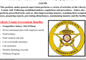 Hiring Jail Officer